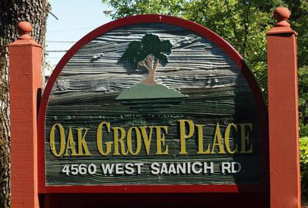 Oak Grove Place 4560 West Saanich V8Z 3G4