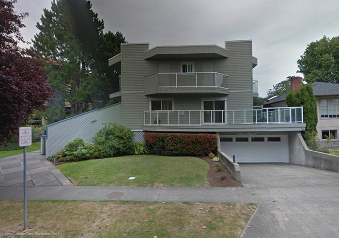 1160 Burdett - 1160 Burdett Ave, Victoria, BC - Building exterior!