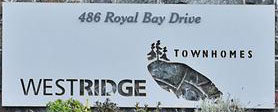 Westridge Townhomes 486 Bay V9C 4L6