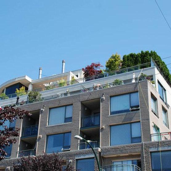 Building Exterior - Rooftop View!