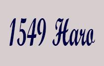 1549 Haro 1549 HARO V6G 1G3