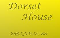 Dorset House 2469 CORNWALL V6K 1B9