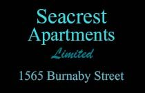Seacrest Apartments Limited 1565 BURNABY V6G 1X1