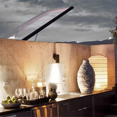 Outdoor Kitchen On Roof!