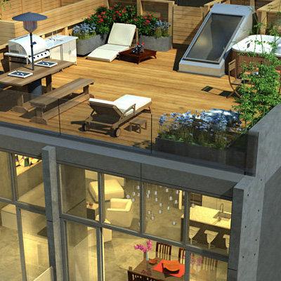 Show - Rooftop Deck!