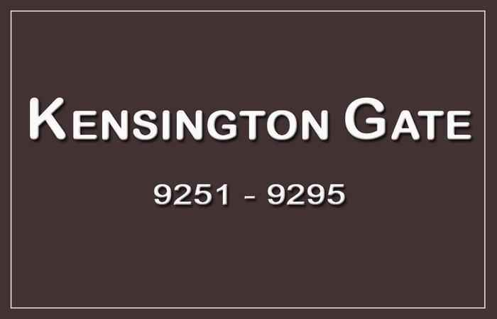 Kensington Gate 9285 122ND V3V 7R7