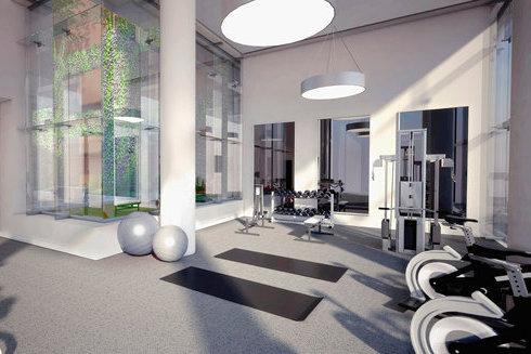 Gym Rendering!