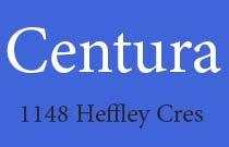 Centura 1148 HEFFLEY V3B 8A6