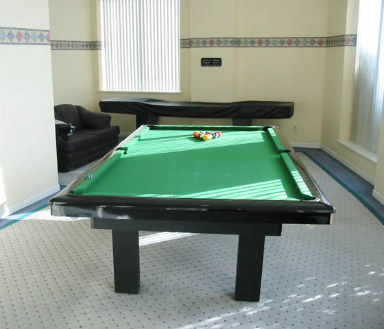 Amenity Billiard Room!