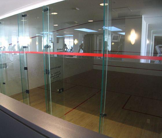 Squash Court!