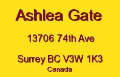Ashlea Gate 13706 74TH V3W 1K3