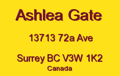 Ashlea Gate 13713 72A V3W 1K2