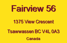 Fairview 56 1375 VIEW V4L 0A3