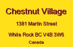 Chestnut Village 1381 MARTIN V4B 3W6