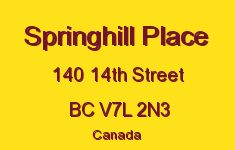 Springhill Place 140 14TH V7L 2N3