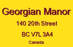 Georgian Manor 140 20TH V7L 3A4