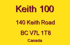 Keith 100 140 KEITH V7L 1T8