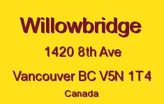 Willowbridge 1420 8TH V5N 1T4