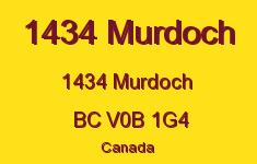 1434 Murdoch 1434 MURDOCH V0B 1G4