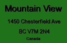 Mountain View 1450 CHESTERFIELD V7M 2N4