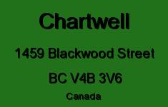 Chartwell 1459 BLACKWOOD V4B 3V6