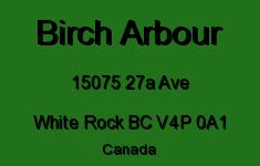 Birch Arbour 15075 27A V4P 0A1