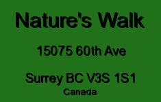 Nature's Walk 15075 60TH V3S 1S1