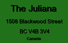 The Juliana 1508 BLACKWOOD V4B 3V4