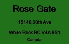 Rose Gate 15148 20TH V4A 8S1