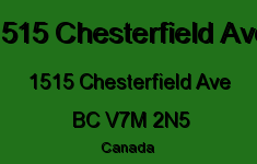 1515 Chesterfield Ave 1515 CHESTERFIELD V7M 2N5