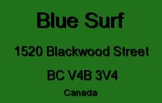 Blue Surf 1520 BLACKWOOD V4B 3V4