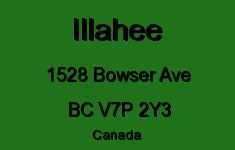 Illahee 1528 BOWSER V7P 2Y3