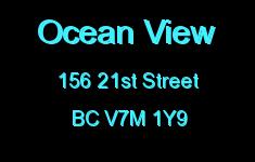 Ocean View 156 21ST V7M 1Y9