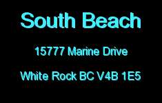 South Beach 15777 MARINE V4B 1E5