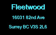 Fleetwood 16031 82ND V3S 2L6