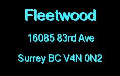 Fleetwood 16085 83RD V4N 0N2