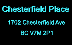 Chesterfield Place 1702 CHESTERFIELD V7M 2P1