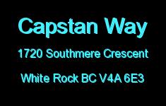 Capstan Way 1720 SOUTHMERE V4A 6E3