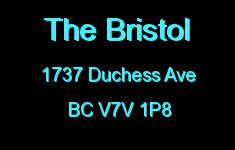 The Bristol 1737 DUCHESS V7V 1P8