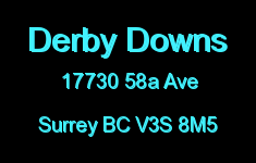 Derby Downs 17730 58A V3S 8M5