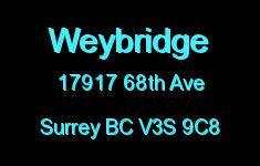 Weybridge 17917 68TH V3S 9C8
