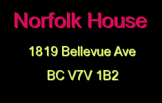 Norfolk House 1819 BELLEVUE V7V 1B2