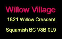 Willow Village 1821 WILLOW V8B 0L9