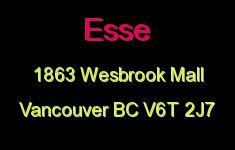 Esse 1863 WESBROOK V6T 2J7