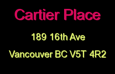 Cartier Place 189 16TH V5T 4R2