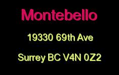 Montebello 19330 69TH V4N 0Z2