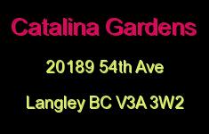 Catalina Gardens 20189 54TH V3A 3W2