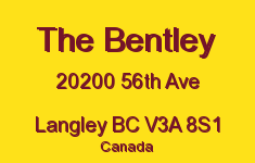 The Bentley 20200 56TH V3A 8S1