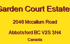 Garden Court Estates 2048 MCCALLUM V2S 3N4