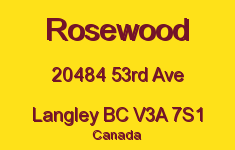 Rosewood 20484 53RD V3A 7S1